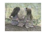 Hugs Stampa giclée di Gail Goodwin