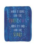 Rain-Stars Stampa giclée di Erin Clark