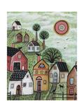 Spring Green 1 Stampa giclée di Karla Gerard