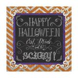 Happy Halloween Giclee Print by Fiona Stokes-Gilbert