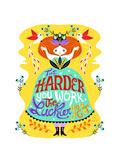 Hard Work Giclée-Druck von Gaia Marfurt