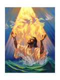 Christian Baptism of Jesus Giclee Print by Jeff Haynie