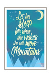 She Will Move Mountains 2 Giclée-Druck von Kimberly Glover