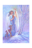 Guardian Angel of Winter Giclee Print by Judy Mastrangelo