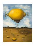 Lemon Drops Giclee Print by Leah Saulnier