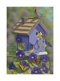 Primarys Butterflies Giclee Print by Jeffrey Hoff