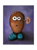 Misfit Potato 3 Giclee Print by Leah Saulnier