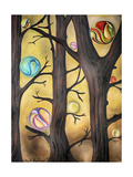 Marble Forest 1 Giclee Print by Leah Saulnier