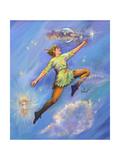 Peter Pan Giclee Print by Judy Mastrangelo