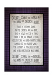 Double Double Toil Lámina giclée por Kimberly Glover