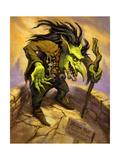 Fantasy Toll Troll Giclee Print by Jeff Haynie