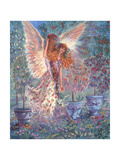 Autumn Angel Giclee Print by Judy Mastrangelo