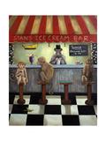 Monkey Business Giclee Print by Leah Saulnier