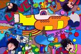 Beatles Yellow-Sub Gicléedruk van Howie Green