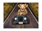 Road Hog Giclee Print by Leah Saulnier