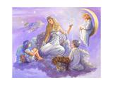 Starlight Giclee Print by Judy Mastrangelo