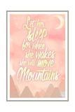 She Will Move Mountains 1 Lámina giclée por Kimberly Glover