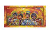Beatles Sgt-Peppers Reproduction procédé giclée par Howie Green