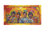 Beatles Sgt-Peppers Gicléedruk van Howie Green
