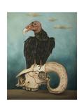 Just Bones 1 Giclee Print by Leah Saulnier