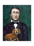 Thoreau Giclee Print by Leah Saulnier