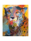 Cheetah Giclee-trykk av Richard Wallich