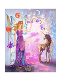 Portal to the Land of Fae Giclee Print by Judy Mastrangelo