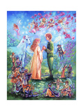 Fairy Wedding Giclee Print by Judy Mastrangelo