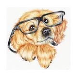 Geek Pup Impressão giclée por Karen Middleton