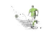 Soccer Player 05 Reproduction procédé giclée par Marlene Watson