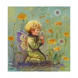 Dandelion Elf Impressão giclée por Judy Mastrangelo