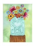 Fill Your Heart Jar Stampa giclée di Jennifer Nilsson