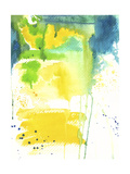 The Quiet Fight - Watercolor Abstract Giclée-vedos tekijänä Jennifer McCully