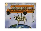 Alien Transport Giclee Print by Leah Saulnier