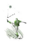 Soccer Player 03 Reproduction procédé giclée par Marlene Watson