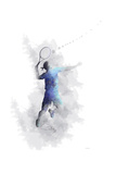 Tennis Player 1 Giclee-trykk av Marlene Watson