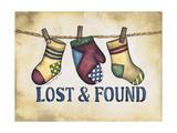 Lost and Found Gicléedruk van Laurie Korsgaden