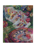Casino Art Giclee Print by Richard Wallich