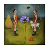 Project X the Garden Giclee Print by Leah Saulnier
