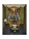 Bull Shitter Giclee Print by Leah Saulnier