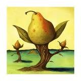 Pear Trees 2 Giclee Print by Leah Saulnier