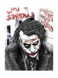 Joker Giclee Print by  Shacream Artist