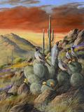 Desert Giclée-Druck von Trevor V. Swanson