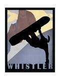 Whistler Mountain Winter Sports I Giclee Print by Tina Lavoie