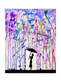 Deluge Lámina giclée por Marc Allante
