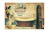 Salle De Bain (2) Giclée-vedos tekijänä  Vintage Apple Collection