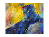 Schwarzer Panther Giclée-Druck von Richard Wallich