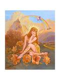 Fairy of Fantasy Giclee Print by Judy Mastrangelo