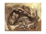 Bandito Cat Giclee Print by Jeff Haynie