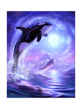 Aquatic Touch the Sky Giclee Print by Jeff Haynie